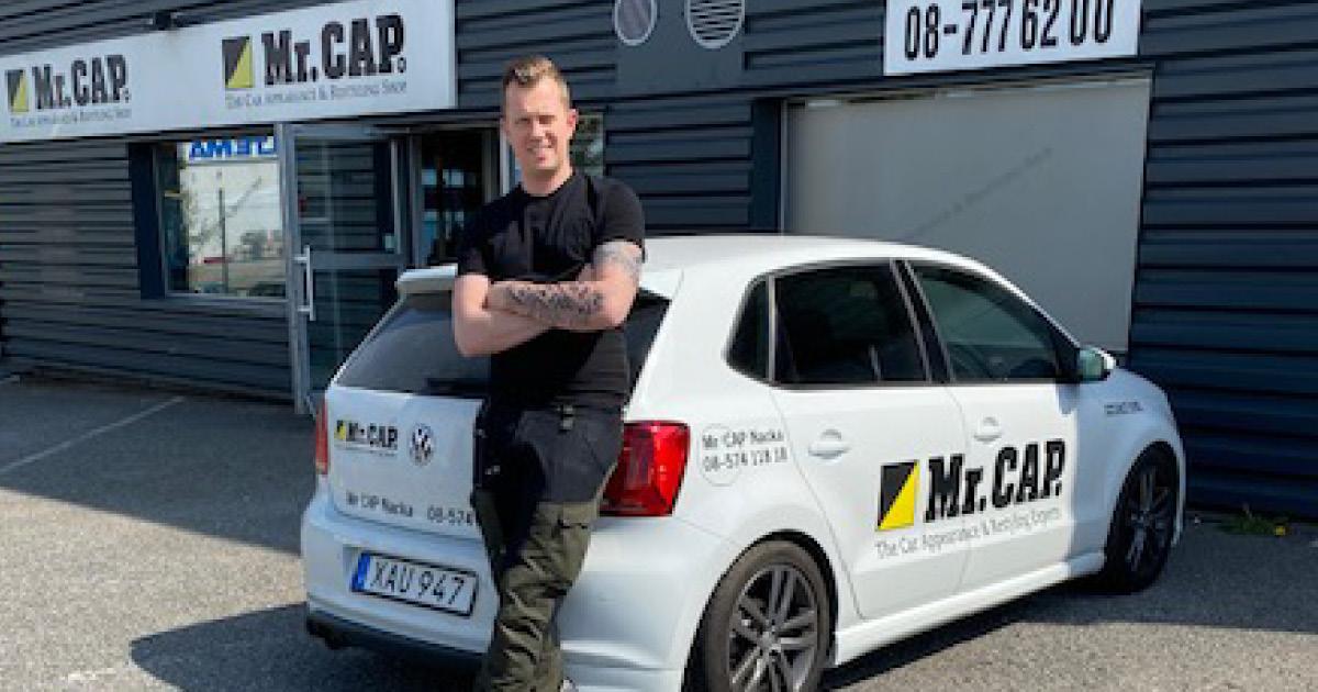 Robin Angeria, Franchisetagare MrCAP Haninge